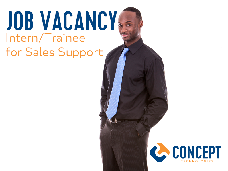 Intern/Trainee for Sales Support